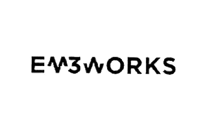Logotipo da spin-off EM3_works