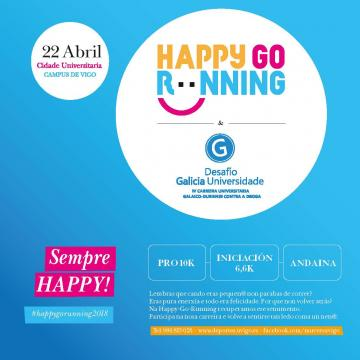 Cartel HappyGoRunning 2018